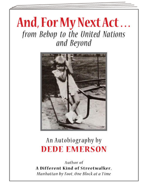 Dede Emerson's autobiographical book